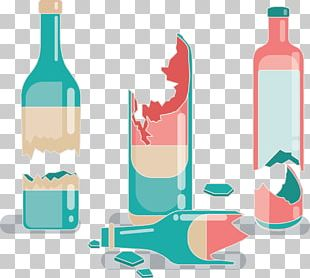 Red Wine Bottle Glass Alcoholic Beverage PNG