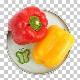 Chili Pepper Bell Pepper Friggitello Yellow Pepper Vegetarian Cuisine PNG