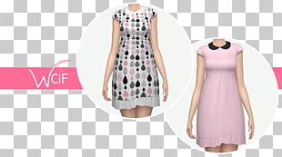 Fashion Design Pink M Sleeve Pattern PNG