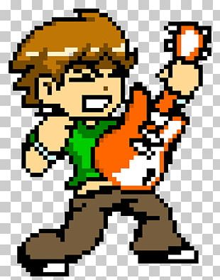 Scott Pilgrim Vs. The World: The Game Pixel Art Todd Ingram Kim Pine PNG