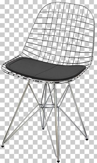Eames Lounge Chair Wire Chair (DKR1) Furniture Charles And Ray Eames PNG