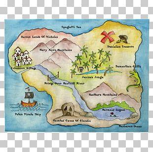 Treasure Map Fantasy Map World Map PNG