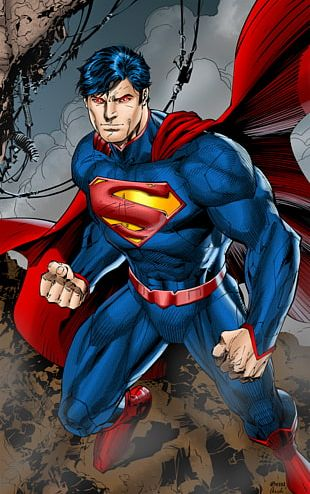 Jim Lee Superman Man Of Steel The New 52 Justice League PNG