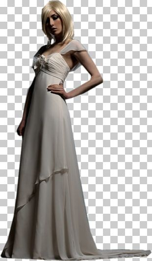 Wedding Dress Evening Gown Cocktail Dress PNG