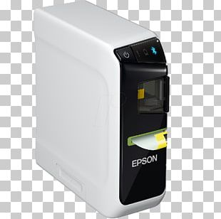Label Printer Paper Epson LabelWorks LW-600 Office Supplies PNG
