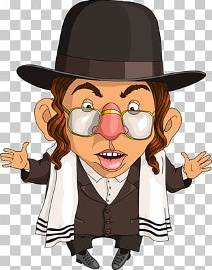 Jewish People Judaism Cartoon Illustration PNG