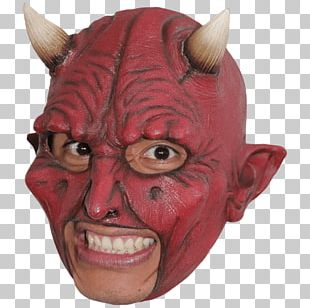 Latex Mask Costume Party Halloween Costume PNG