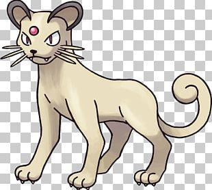Persian Pokemon PNG
