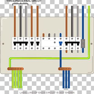 Wiring Diagram Electric Switchboard Electrical Wires & Cable Distribution Board Home Wiring PNG