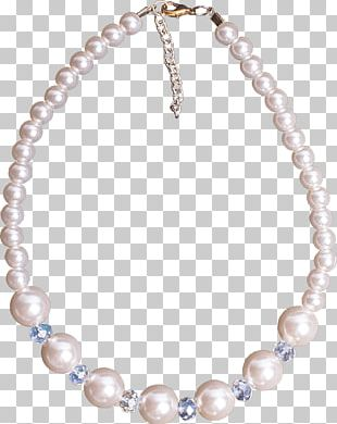 Pearl Earring Necklace Bead Bijou PNG