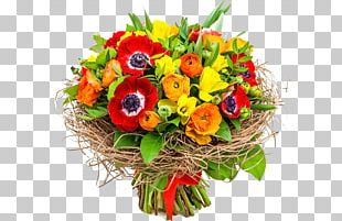 Flower Bouquet Cut Flowers Stock Photography PNG