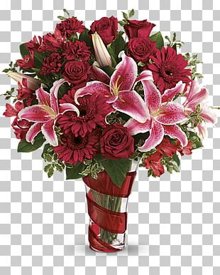 Teleflora Floristry Flower Bouquet Valentine's Day PNG