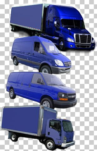 Compact Van Car Truck Transport PNG