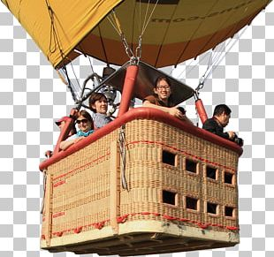 Flight Hot Air Balloon Cappadocia Basket PNG