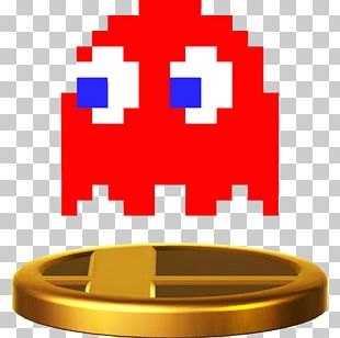 Ms. Pac-Man Super Smash Bros. For Nintendo 3DS And Wii U Pac-Man & Galaga Dimensions Ghosts PNG