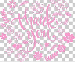 Pink Floral Design PNG