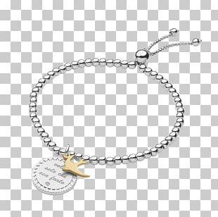 Bracelet Jewellery Silver Necklace Charms & Pendants PNG