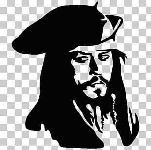 Jack Sparrow Wall Decal Sticker Drawing PNG