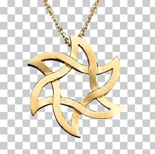 Locket Body Jewellery Necklace Gold PNG