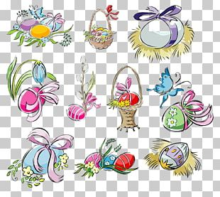 Easter Egg Drawing Child Art Cross-stitch PNG