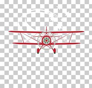 Light Aircraft Propeller Monoplane Biplane PNG