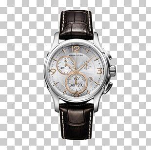Omega Chrono-Quartz Hamilton Watch Company Chronograph Strap PNG
