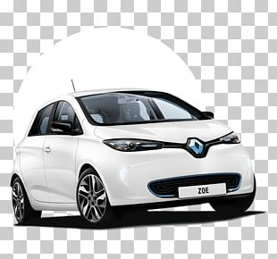 Renault ZOE Electric Vehicle Car Renault Z.E. PNG