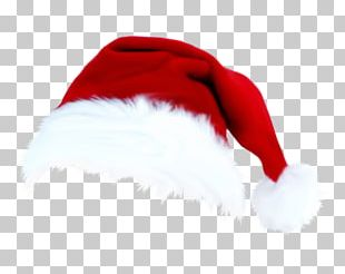 Santa Claus Christmas Hat Cap PNG