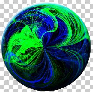 Cobalt Blue Circle Organism PNG