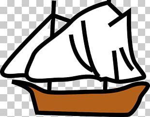 Sailing Ship Boat PNG