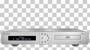 CD Player Compact Disc Audio Lecteur De CD Media Player PNG