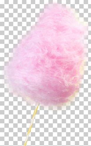 Cotton Candy Bonbon Sugar Candy Cane PNG