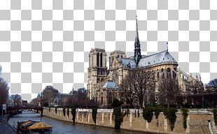 Notre-Dame De Paris Eiffel Tower Cathedral High-definition Television PNG