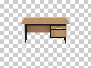 Desk Particle Board Table Furniture Office PNG