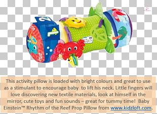 Infant Baby Einstein Plastic Toy Pillow PNG