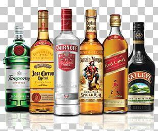 Alcohol Bottles PNG