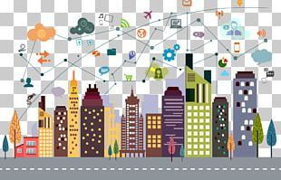 Cityscape Building Illustration PNG