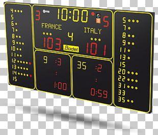 Display Device Scoreboard Sport Liquid-crystal Display Digital Clock PNG