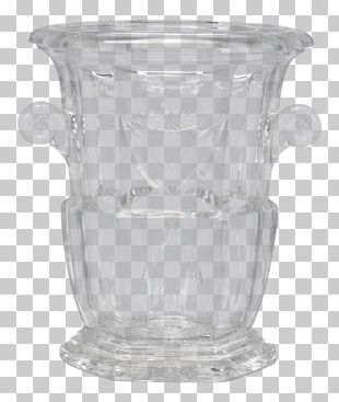 20th Century Glass Baccarat Vase Tear Sheet PNG