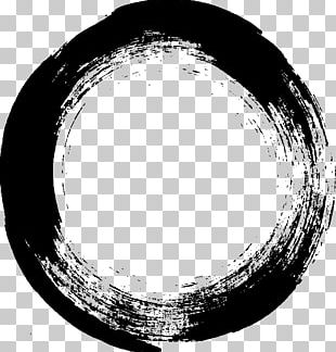 Brush Circle Stroke PNG