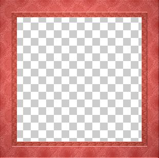 Square Chessboard Area Frame Pattern PNG