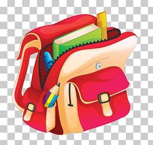 School Cartoon Bag PNG