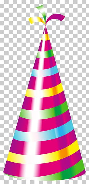 Birthday Cake Party Hat PNG