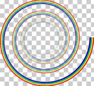 Spiral Rainbow Computer Icons Prism PNG