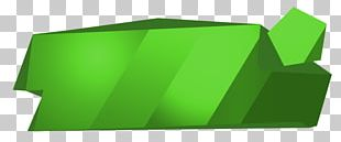 Brand Rectangle Green PNG