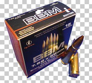 Ammunition 7.62×39mm Full Metal Jacket Bullet Soft-point Bullet 7.62 Mm Caliber PNG
