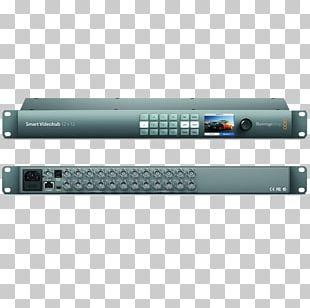 Blackmagic Design VHUBSMART6G Serial Digital Interface Video Router PNG