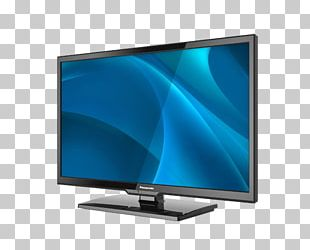 Panasonic LED-backlit LCD High-definition Television 1080p Display Resolution PNG