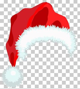Santa Claus Hat Christmas PNG