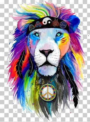 T-shirt Lion Art Drawing PNG
